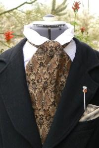 Victorian Brocade Cravat Cowboy Tie Steampunk by ItsNotPajamas