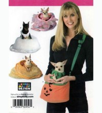 Teacup dog costumes pet Halloween costume sewing pattern