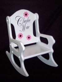 Childs Rocking Chair personalized