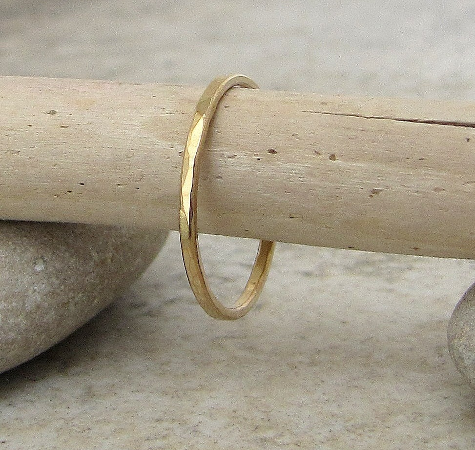 thin wedding band gold wedding bands Thin Gold Wedding Band Women s Wedding Ring Hammered Gold Wedding Ring 14k Simple Gold Band Dainty Delicate Gold Wedding Bands Gift for Her