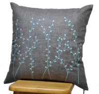 Pillow Cover Decorative Throw Pillow Cover Ash Grey by ...