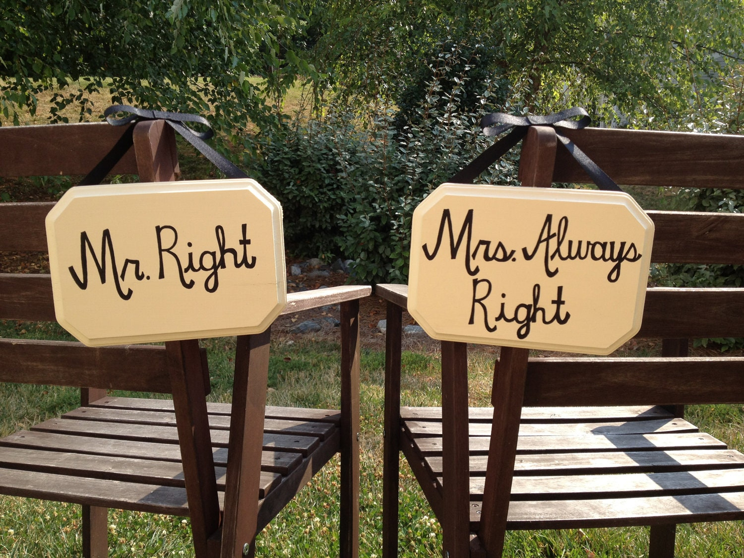 Mr Right Mrs Always Right Bettwäsche Mr Right Mrs Always Right Wooden Wedding By Amazingboutique