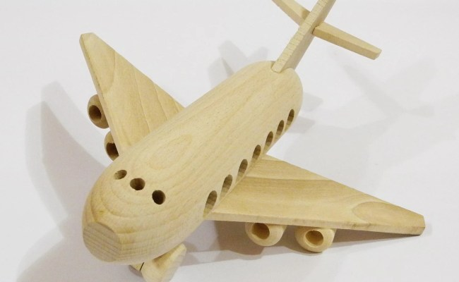 Airplane Organichandcrafted Wooden Toys Eco Friendly By Ecotoy
