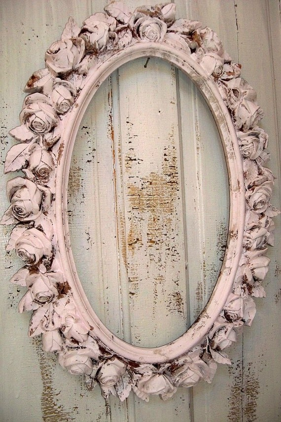 Oval Mirror Long Reserved For B Till Sat 12 Large Picture Frame By
