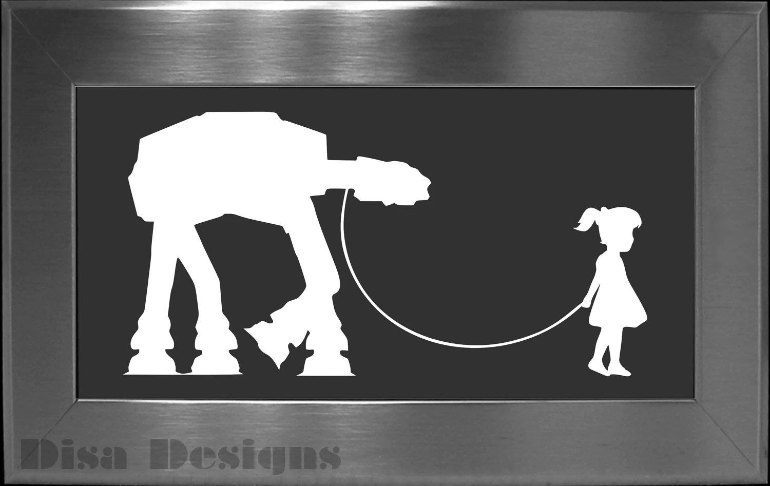 Stormtrooper Bettwäsche A Girl And Her At At Vinyl Decal Car Decal Macbook Decal