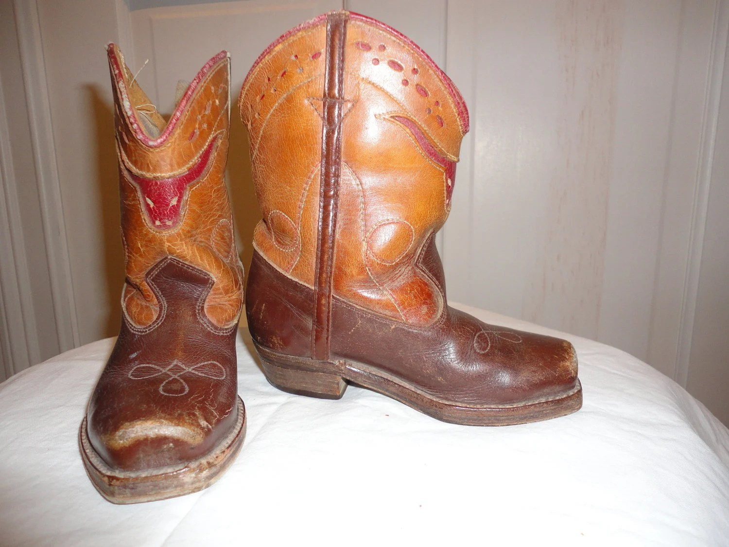 Toddler Cowboy Boots Size 3 To 4