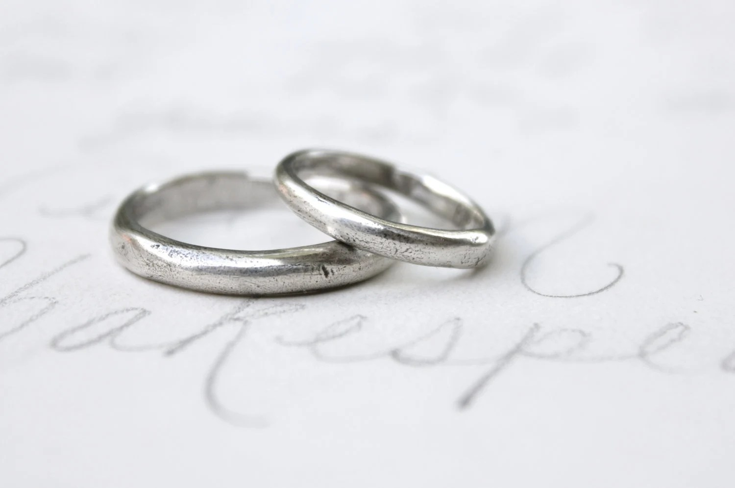 simple wedding ring sets simple wedding bands simple silver wedding bands