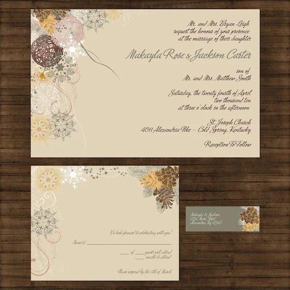 sample of wedding invitations
