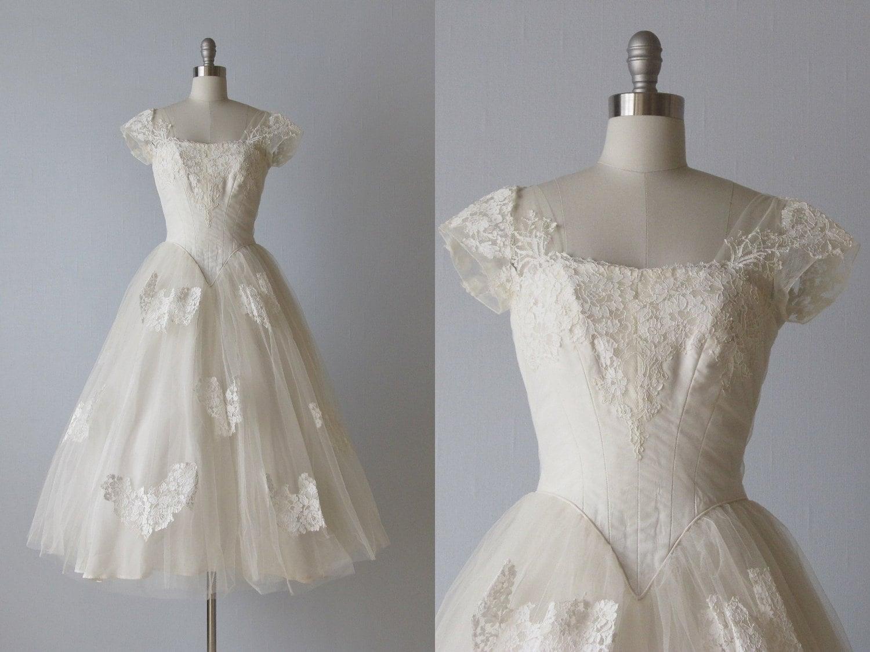 reserved tea length wedding dress s etsy wedding dresses zoom
