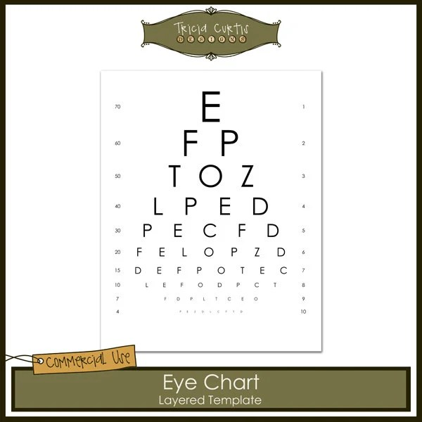 Doc#800709 Iq Chart Template u2013 30 Printable IQ Charts IQ Scores - eye chart template