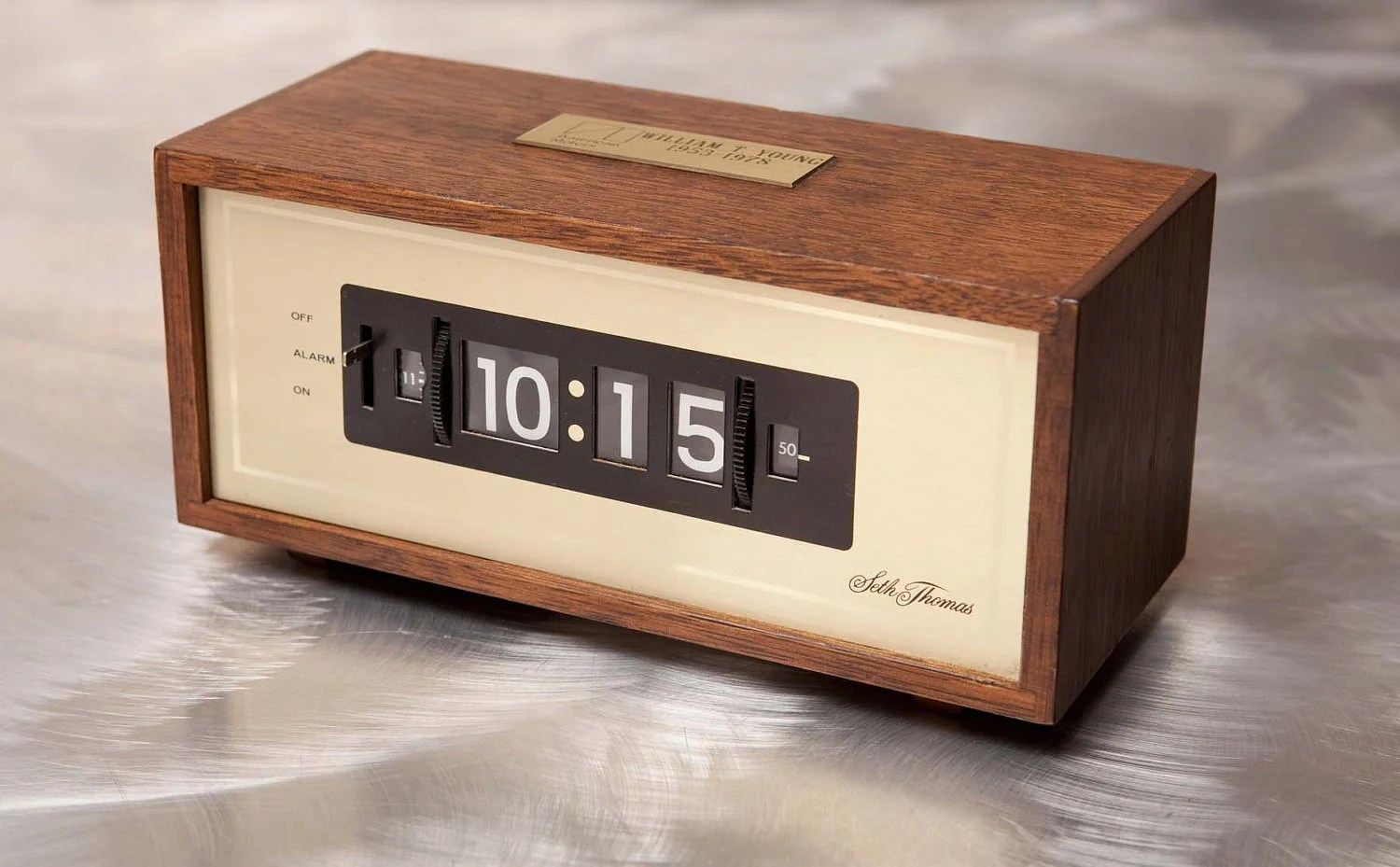 Modern Digital Clocks Mid Century Modern Digital Clock Seth Thomas 1978 American