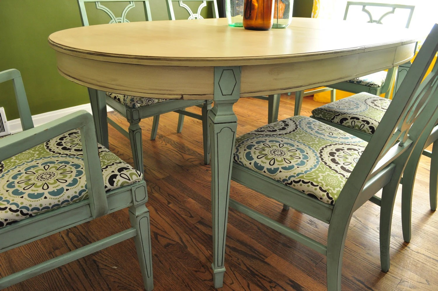 Tisch Lackieren Items Similar To Sold Custom Painted Dining Room Table An