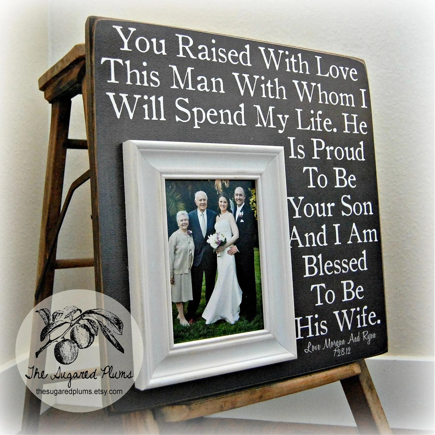 parents of the groom gift mother of the wedding gifts for groom zoom