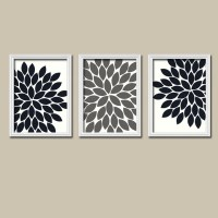 Black White Grey Wall Art Bedroom Pictures CANVAS or Prints