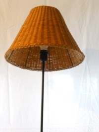 15 inch rattan lamp shade
