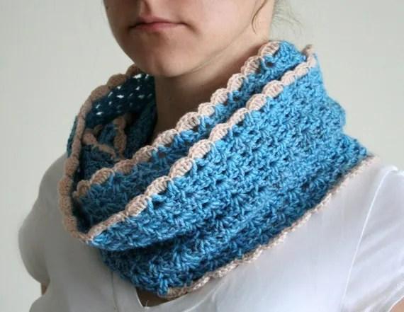 Free Crochet Patterns Scalloped Scarf Pakbit For
