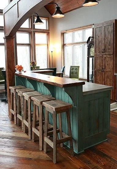 Tall Kitchen Island Table Your Reclaimed Rustic And Recycled Oak Barn By Timelessjourney
