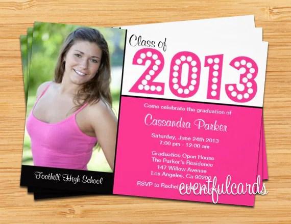 Class of 2017 High School/College High School/College Graduation - print grad cards