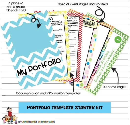 Child Portfolio Templates Starter Kit