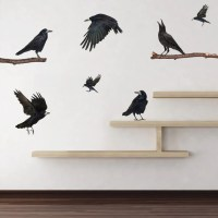 Ravens of Yore Wall Decals