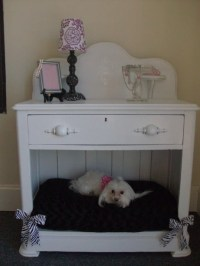 Items similar to Vintage night stand/ dog bed on Etsy