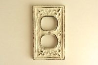 electrical outlet cover decorative wall plate french