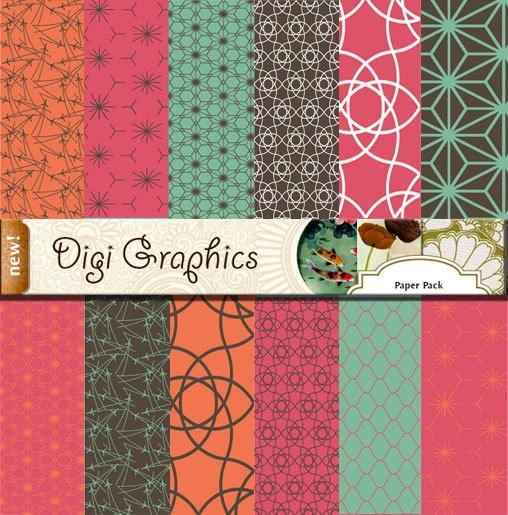 Retro Formica Digital Instant Download Paper Pack Formica