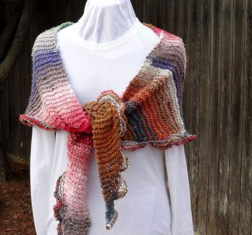 Simple Knit Shawl Pattern Free - Erieairfair
