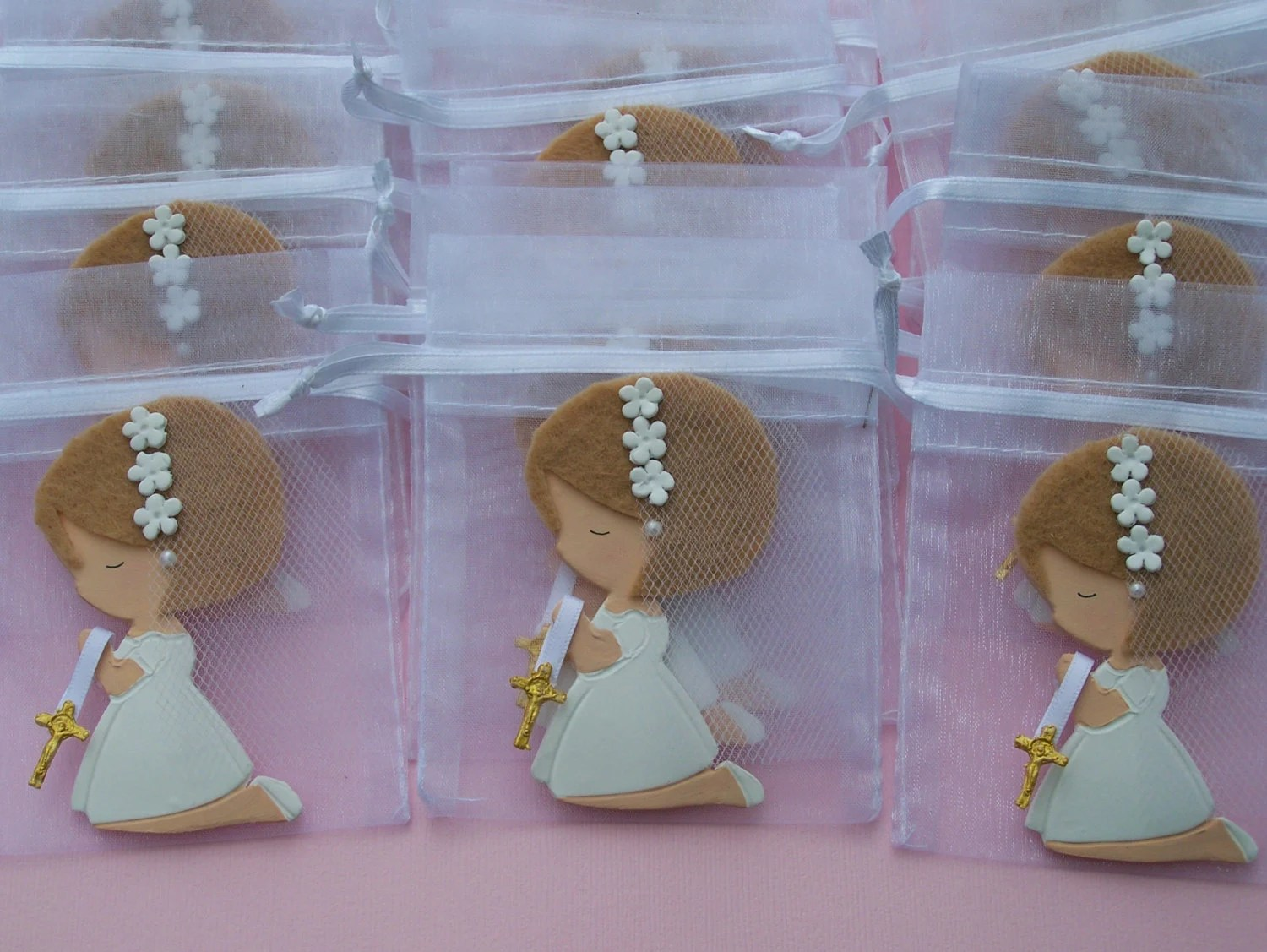 Centros De Mesa Para Comuniones Originales Items Similar To First Communion, Baptism, Confirmation