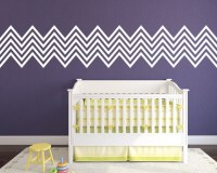 Wall Decal Chevron Pattern Shapes
