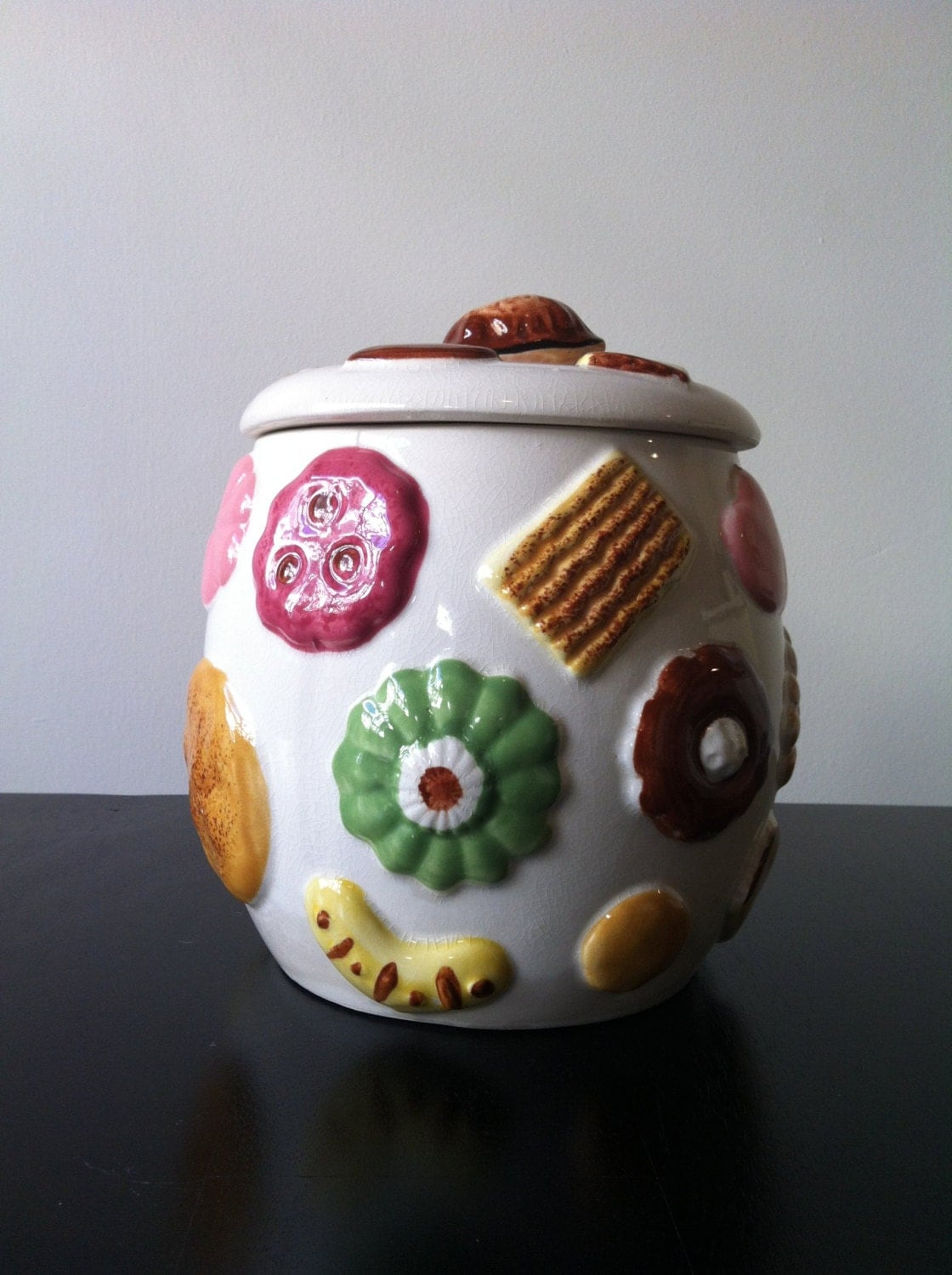 Modern Cookie Jar Collectible Napco Cookies All Over Cookie Jar