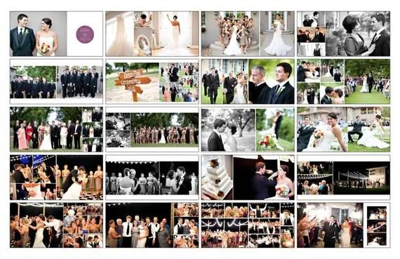 Items similar to Wedding Album Template, WHCC Photoshop Album