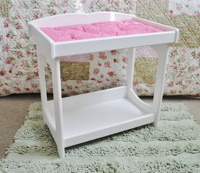 Baby Wickeltisch Baby Doll Changing Table By Pinkietwink On Etsy