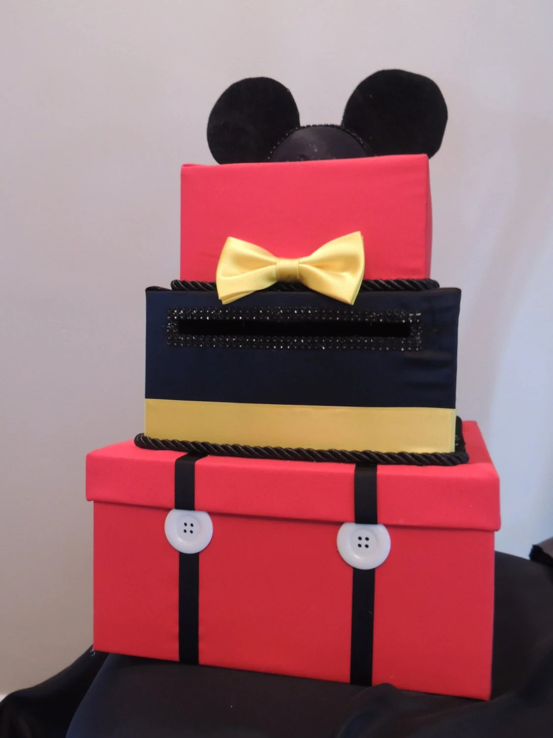 Outdoor Box Mickey Mouse Card Box Mickey Mouse Party By
