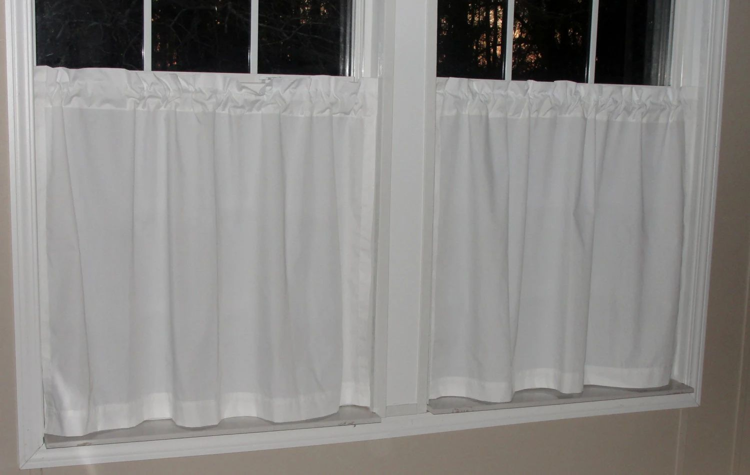 Kitchen cafe curtains - Download
