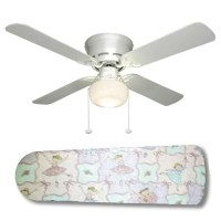 Ceiling Fan with Lamp Little Girls Ballerina Babies by ...