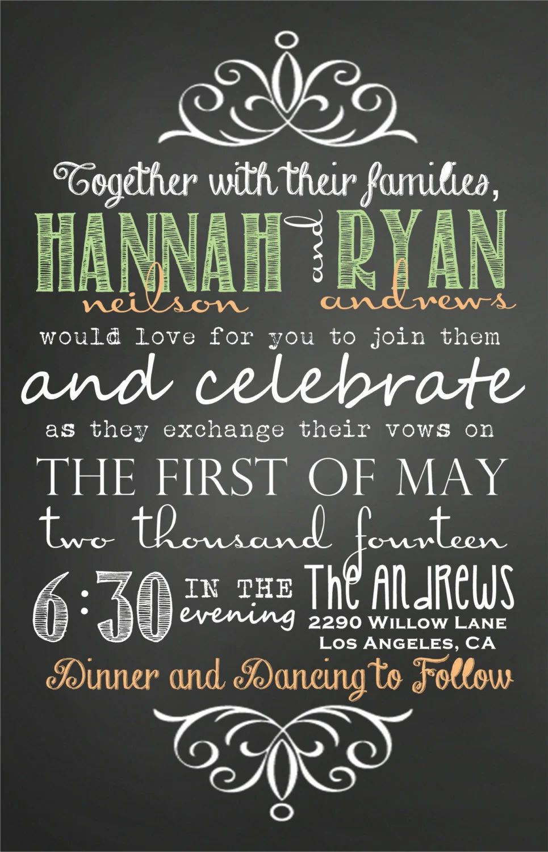 wedding invitation download