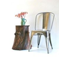 Walnut Tree Stump End Table Side Table Nightstand Furniture