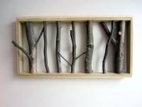 Coat Rack/Wall Art by TheWildGrape on Etsy