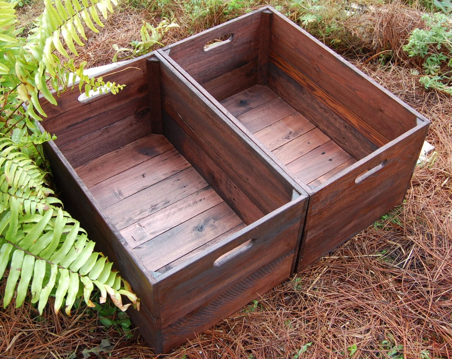 Fruit Bins For Sale Set Of Large Looney Bin Crates Apple Crates Wooden Crates