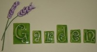 Items similar to Ceramic letter tiles to order...for ...