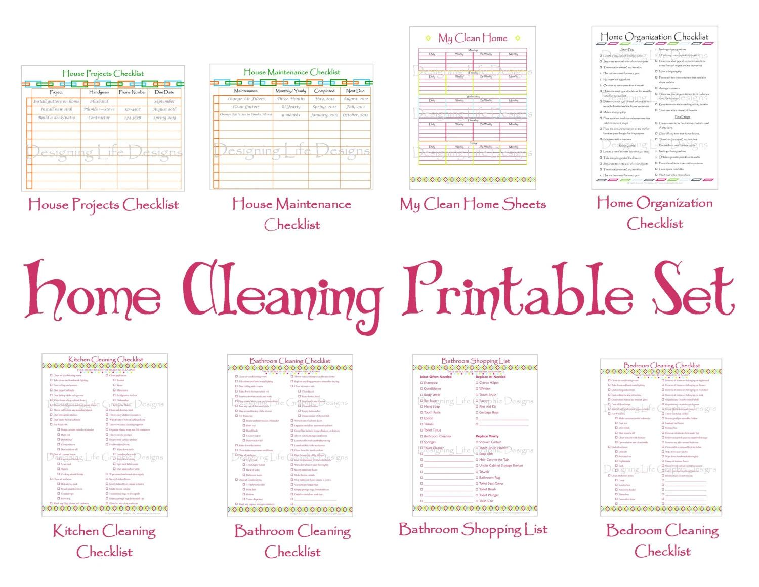 house cleaning price sheet