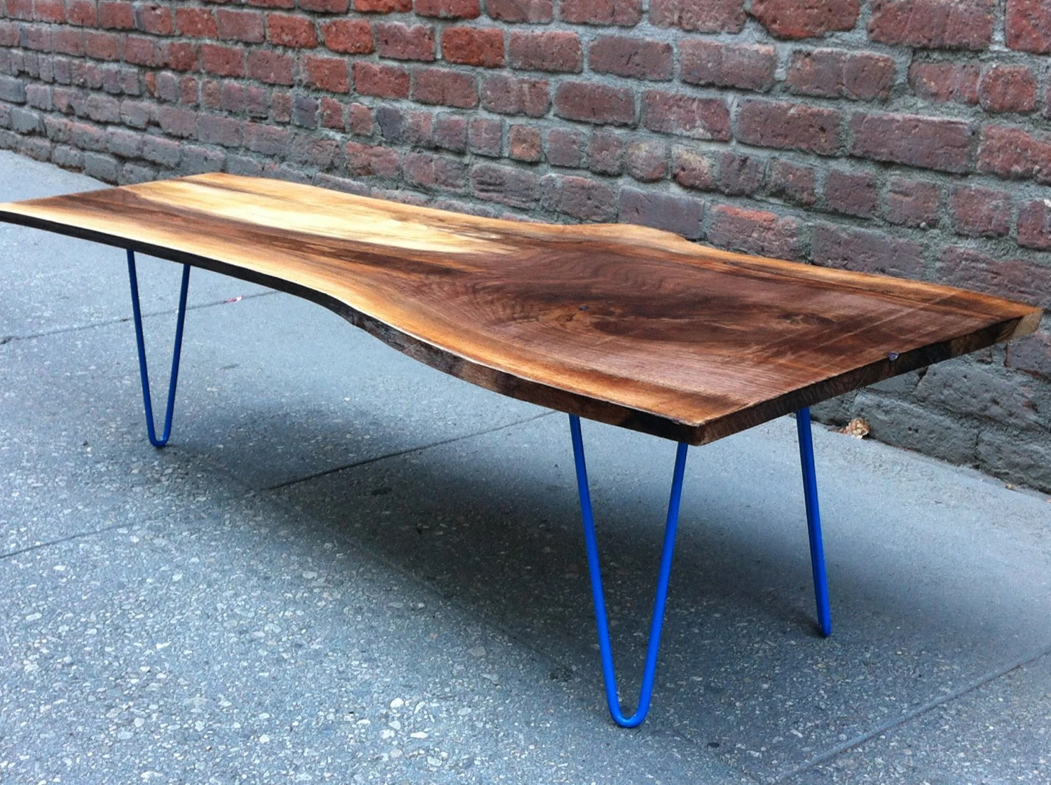 Live Edge Coffee Table Sold Black Walnut Live Edge Coffee Table