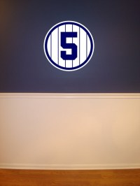 NEW YORK YANKEES Removable Wall Decals by pantsdownshirtscom