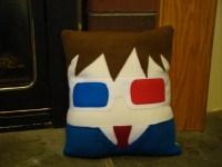 10th Doctor David Tennant pillow plush cushion