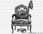 Antique Butterfly Wingback Chair EBTH