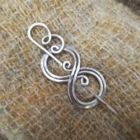 Boo-Knits Aluminum Shawl Pin Scarf Pin Sweater Clip