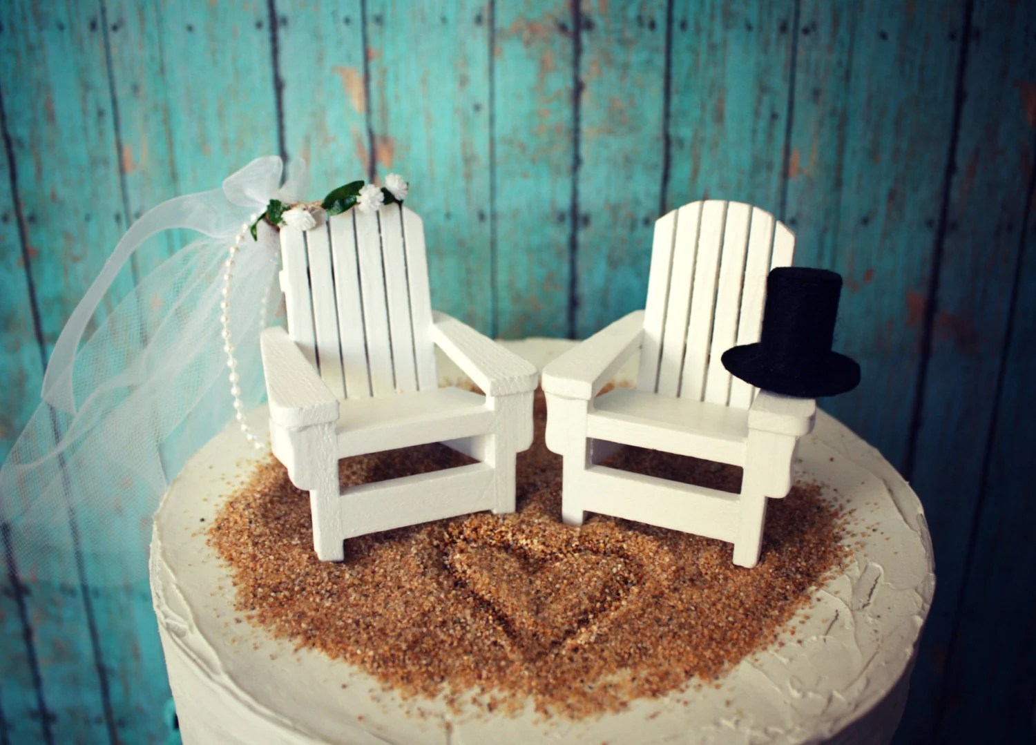Adirondack Beach Wedding Chairs Adirondack By Morganthecreator