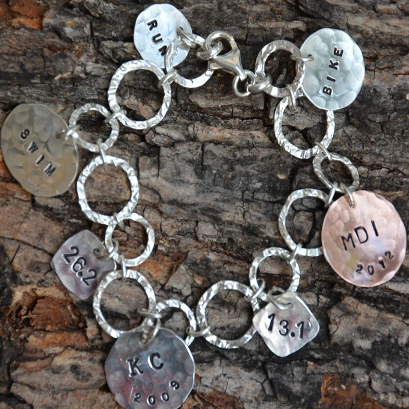 Items Similar To Triathlon Jewelry Sterling Silver