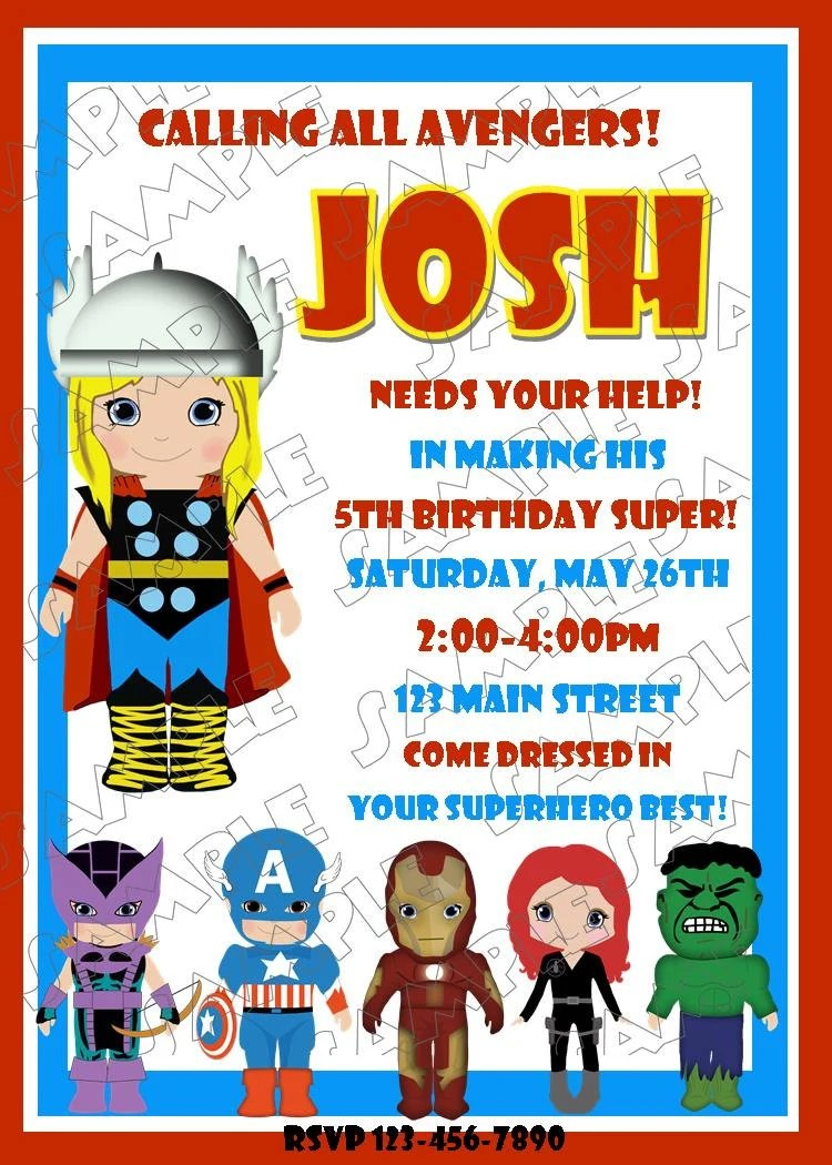 Items Similar To Avengers Thor Inspired Birthday Party